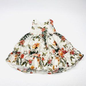 Edgehill Collection Floral Tiered Party Dress 18 M